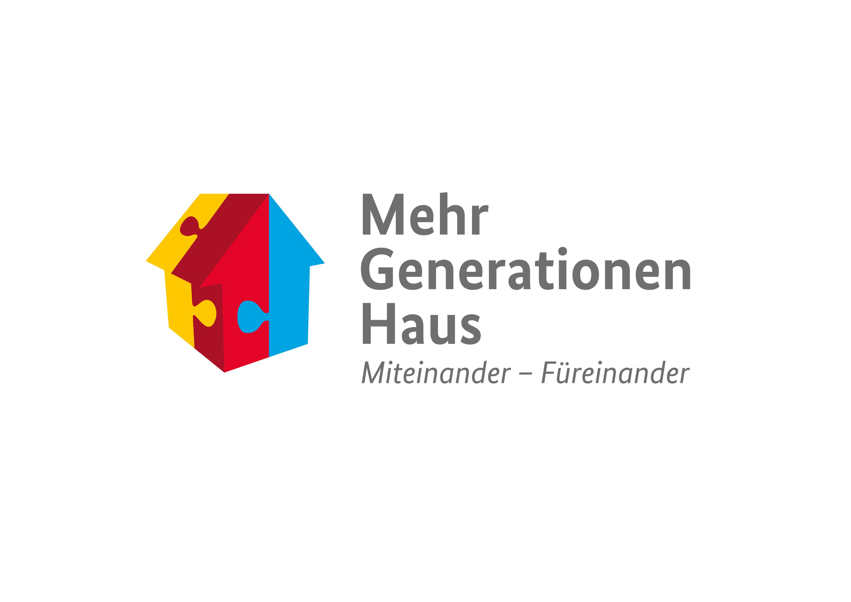 Logo des Bundesprogramms Mehrgenerationenhaus.